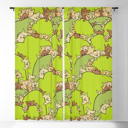 Funny Field Mice Blackout Curtain