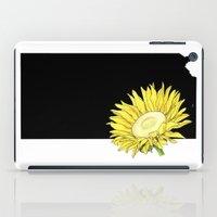 kansas iPad Cases featuring Kansas Silhouette by Ursula Rodgers