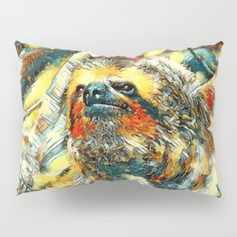 AnimalArt_Sloth_20171201_by_JAMColorsSpecial Pillow Sham