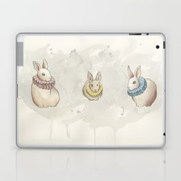 Rabbits in Ruffs Laptop & iPad Skin