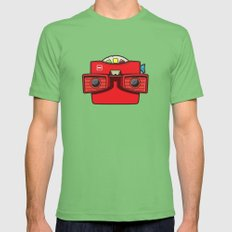 #42 Viewmaster Mens Fitted Tee Grass MEDIUM