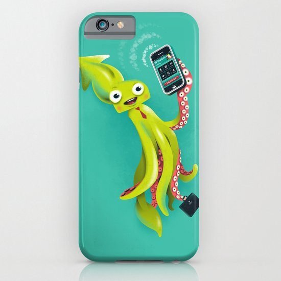 SQUID RINGS iPhone & iPod Case