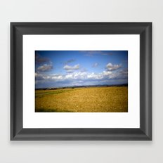 German Countryside Framed Art Print