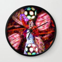 Magic Tour Queen Wall Clock