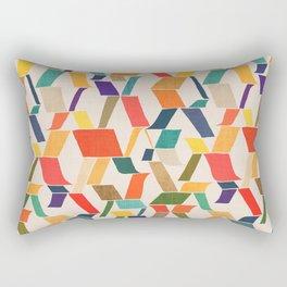 The X Rectangular Pillow