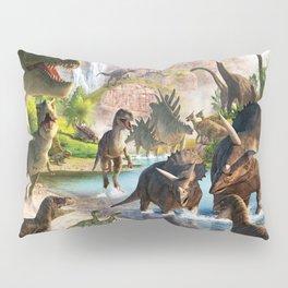 Jurassic dinosaur Pillow Sham