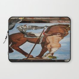 Professor Harvard on the Family painting by Jes Fuhrmann  Laptop Sleeve