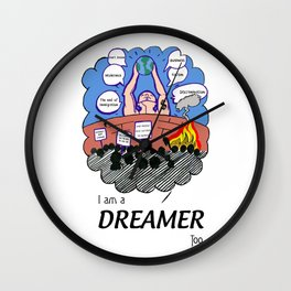 I am Dreamer too Wall Clock