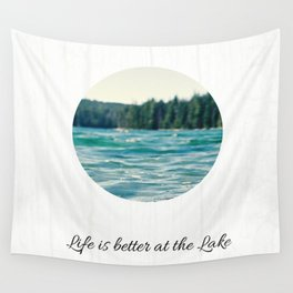 Life on the Lake Wall Tapestry