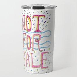 Not For Sale Travel Mug