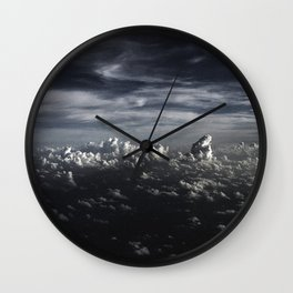 Clouds over the  Sea Wall Clock