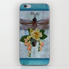 Dragonfly Love by Kathy Morton Stanion iPhone Skin