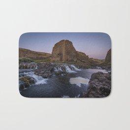 Palouse Falls - Waterfall Sunset Bath Mat