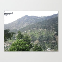 Mountains of Murree Canvas Print