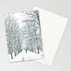 winter symphony Stationery Cards