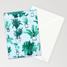 Houseplants All Over The Place Stationery Cards