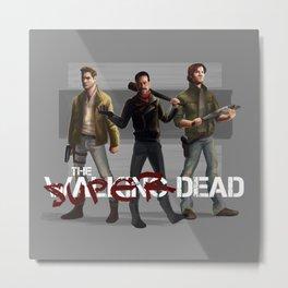 Super Dead Metal Print