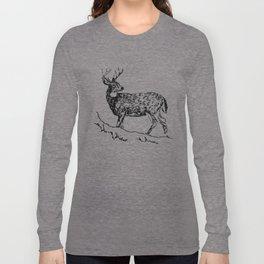 White Tail Deer | Hunting Shirts | Campers | Hunter Mug Long Sleeve T-shirt