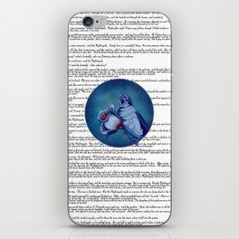 The Nightingale And The Rose iPhone Skin