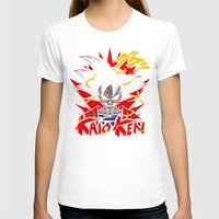dbz T-shirts featuring Goku Skull DBZ by offbeatzombie