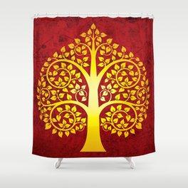 Bodhi Tree0101 Shower Curtain