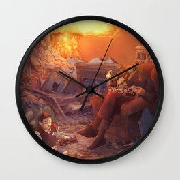 CrashDeath Wall Clock
