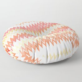 Messed Up Chevrons Floor Pillow