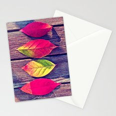 Autumn Leaves - for iphone Stationery Cards