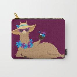 Bahama Llama Carry-All Pouch