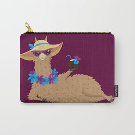 Bahama Llama Carry-All Pouch
