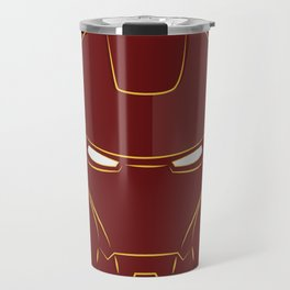 iron man face Travel Mug