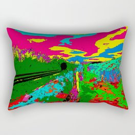 Violets Rectangular Pillow