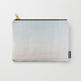 Above The Clouds Sky Ombre Design Carry-All Pouch