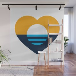 Heart of MKE - People's Flag of Milwaukee Wall Mural