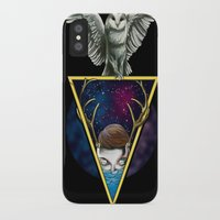 mirror iPhone & iPod Cases featuring Mirror by Valerio Marino