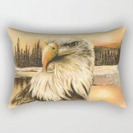 Bald Eagle Rectangular Pillow