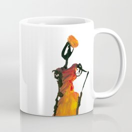Malaika and Zeita dressing fire flames Coffee Mug