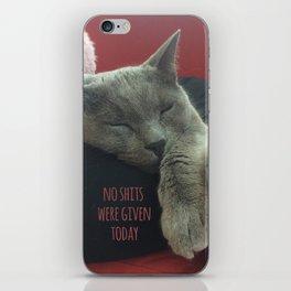 No care iPhone Skin