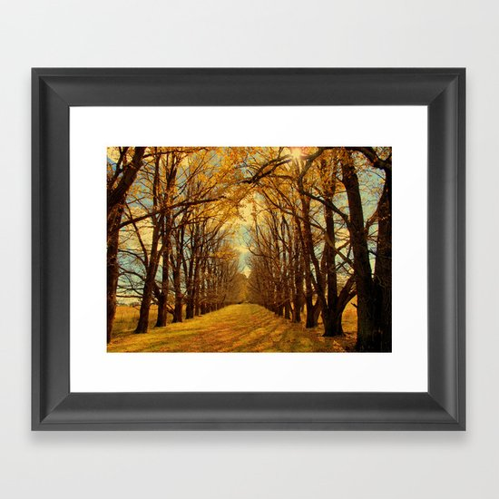 It Just Keeps Turning Framed Art Print