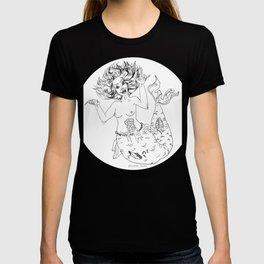 TEAM SCREAM Mermaid Zombie T-shirt