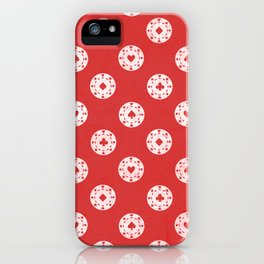 Poker Dots iPhone Case