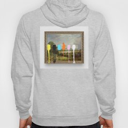 Thrift Store Landscape with a Color Test Hoody