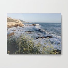 Avila Beach Bluffs Metal Print