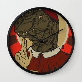 Pontifexsaurus Rex Wall Clock