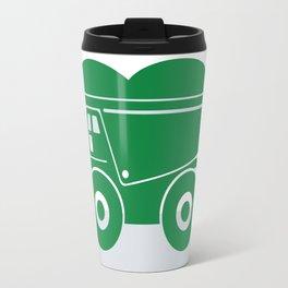 Green Dump Truck Travel Mug