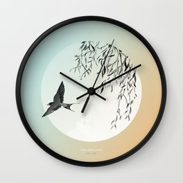 [9.18—9.22] Swallows Leave Wall Clock
