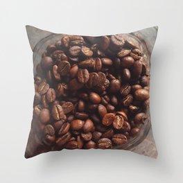 Coffee Bean Love (2)  Throw Pillow