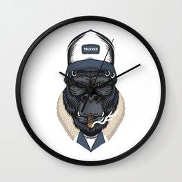 Gorilla Trucker ! Wall Clock