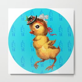 Chicken Meat Metal Print