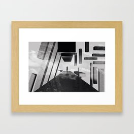 Enjoy the Sky. Framed Art Print